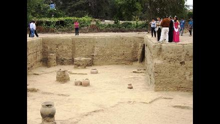 Autoridades visitan Complejo Arqueológico San José de Moro en Chepén