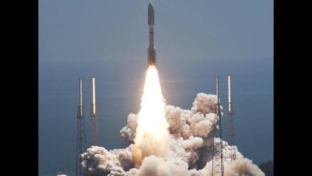 NASA lanza a Júpiter la nave espacial no tripulada Juno