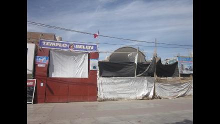 Pisco: Realizan vigilia por la reconstrucción del templo Belén