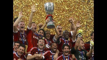 Milan se alza con la Supercopa italiana en Pekín tras vencer al Inter