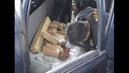 Policía decomisa 9 kilos de PBC en Ayacucho