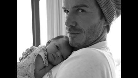 Los Beckham comparten nueva foto de su hija Harper Seven