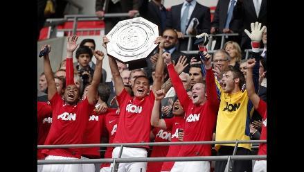 Manchester United se corona campeón de la Copa Community Shield