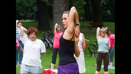 Yoga in the park se extiende en Polonia