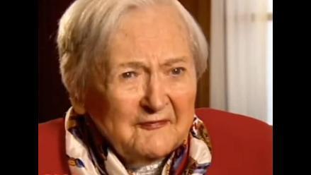 Heroína de la Segunda Guerra Mundial muere a los 98 años