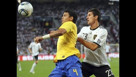 Alemania derrota 3-2 a Brasil en amistoso luego de 18 años