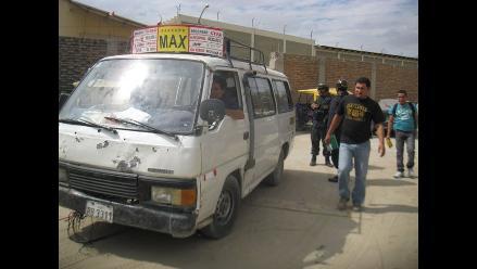 Piura: Policía recupera combi robada en Castilla