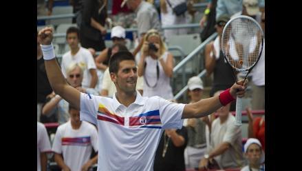 Novak Djokovic ya está en los cuartos de final del Masters de Montreal