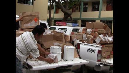 Trujillo: Incauta 300 cartuchos de dinamita transportados en un taxi