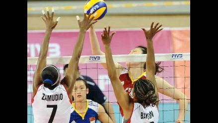 Voleibol peruano sigue sin ganar en el Grand Prix tras caer ante China