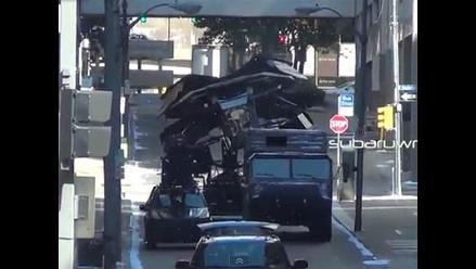 Revelan cómo vuela realmente la nave de Batman en The Dark Knight Rises