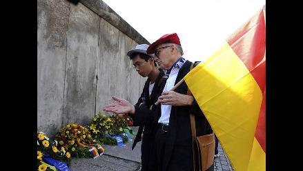 A 50 años de su construcción recuerdan el Muro de Berlín como un hito