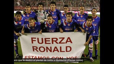 Ronald Quinteros debutará este lunes con Unión ante Boca Juniors · Más  Fútbol 21957a6ff0921