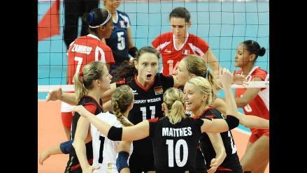 Voleibol peruano cayó ante Alemania y no levanta cabeza en Grand Prix