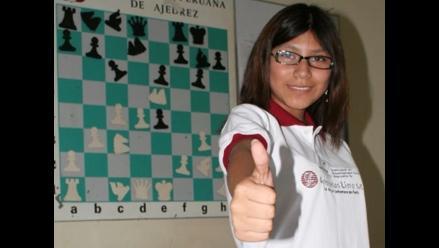 Deysi Cori será premiada por Estado peruano tras título mundial de ajedrez