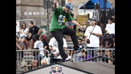 Peruano Guillermo Vascones competirá en la final de Skate manual