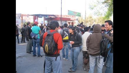 Arequipa: Suspenden labores en la UNSA por paro de trabajadores