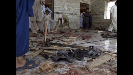 Al menos 30 muertos en un atentado suicida en una mezquita de Pakistán