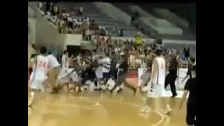 China censuró pelea entre basquetbolistas por su ´simbolismo político´