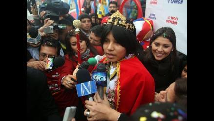 Reviva en imágenes el recibimiento a la campeona mundial Deysi Cori