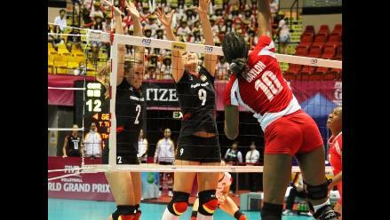 Voleibol peruano cae ante Alemania y suma octava derrota en Grand Prix