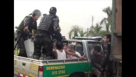 Policía justifica uso de armas en incidente con barristas en Cusco