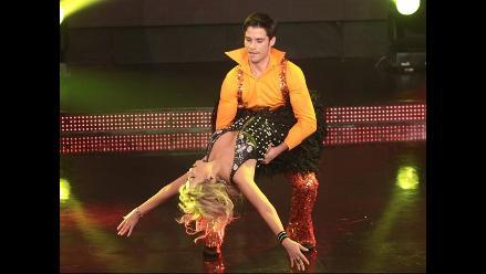 Jesús Neyra hizo volar a Gisela en la pista de baile de El Gran Show