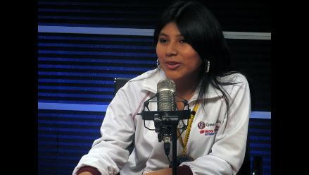 Deysi Cori: Le pedí al presidente Ollanta Humala que apoye al deporte