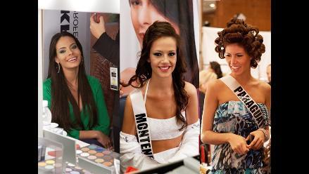 Así se preparan las candidatas a Miss Universo 2011