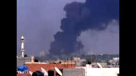 Rebeldes lograron ingresar a la fortaleza de Muamar el Gadafi