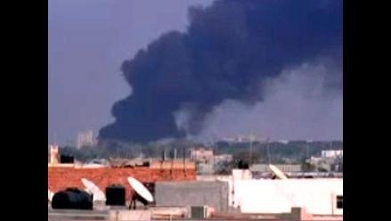 Los rebeldes libios controlan totalmente el palacio de Gadafi