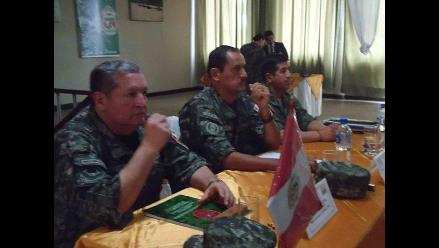 Tumbes: FFAA de Perú y Ecuador se reúnen para realizar acción cívica