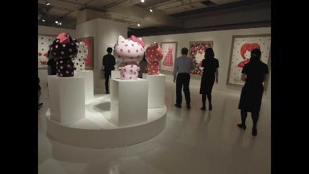 Exposición de Hello Kitty muestra una gata de 247.000 dólares