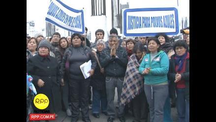 Comerciantes de Polvos Azules se oponen a ser desalojados de azotea