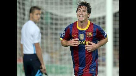 Lionel Messi fue elegido como mejor jugador UEFA