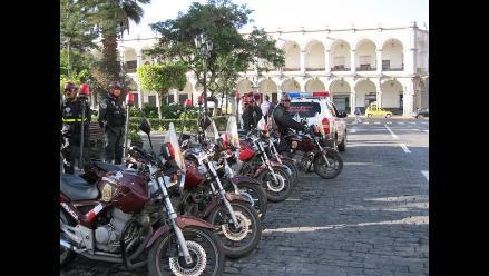 Arequipa: Nuevo director policial evalúa rapidez en intervenciones