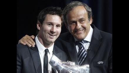 Michel Platini: Messi está mucho más protegido por los árbitros