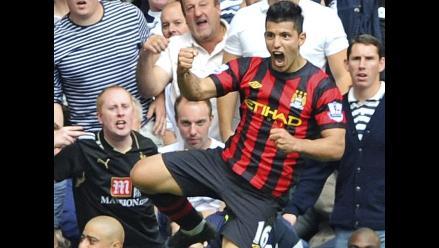Manchester City golea al Tottenham y lidera la Premier League