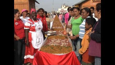 Chincha: Preparan la carapulcra más grande de la región sur