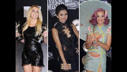 MTV VMA 2011: la noche empieza en la alfombra