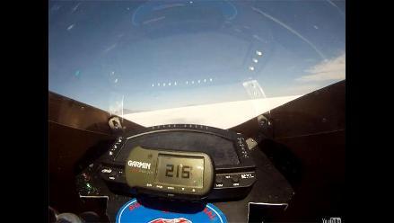 Motocicleta no contaminante establece nuevo récord de velocidad