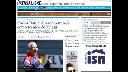 Carlos Daniel Jurado anuncia que regresa a dirigir a Cienciano