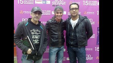 Artistas peruanos se confiesan fans de Rod Stewart