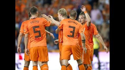Holanda goleó a San Marino por 11-0 y avanza firme rumbo a la Eurocopa