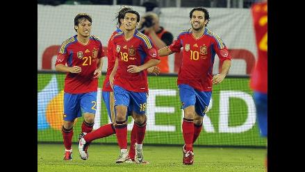 España superó por 3-2 a Chile en amistoso internacional disputado en Suiza