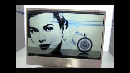 Conozca el televisor transparente TV OLED de 22 pulgadas