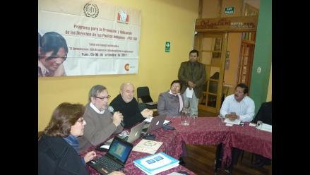 Autoridades de Puno analizan convenio 169 de la OIT