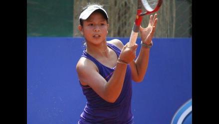 Peruana Patricia Kú cayó y se despidió del US Open Junior
