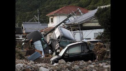 Tifón Talas golpea Japón