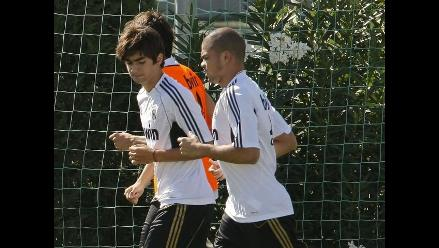 Enzo Zidane se entrena con el primer equipo del Real Madrid
